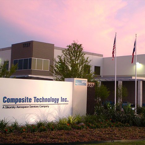 composite technology sikorsky dfw airport property with bandera ventures commercial real estate